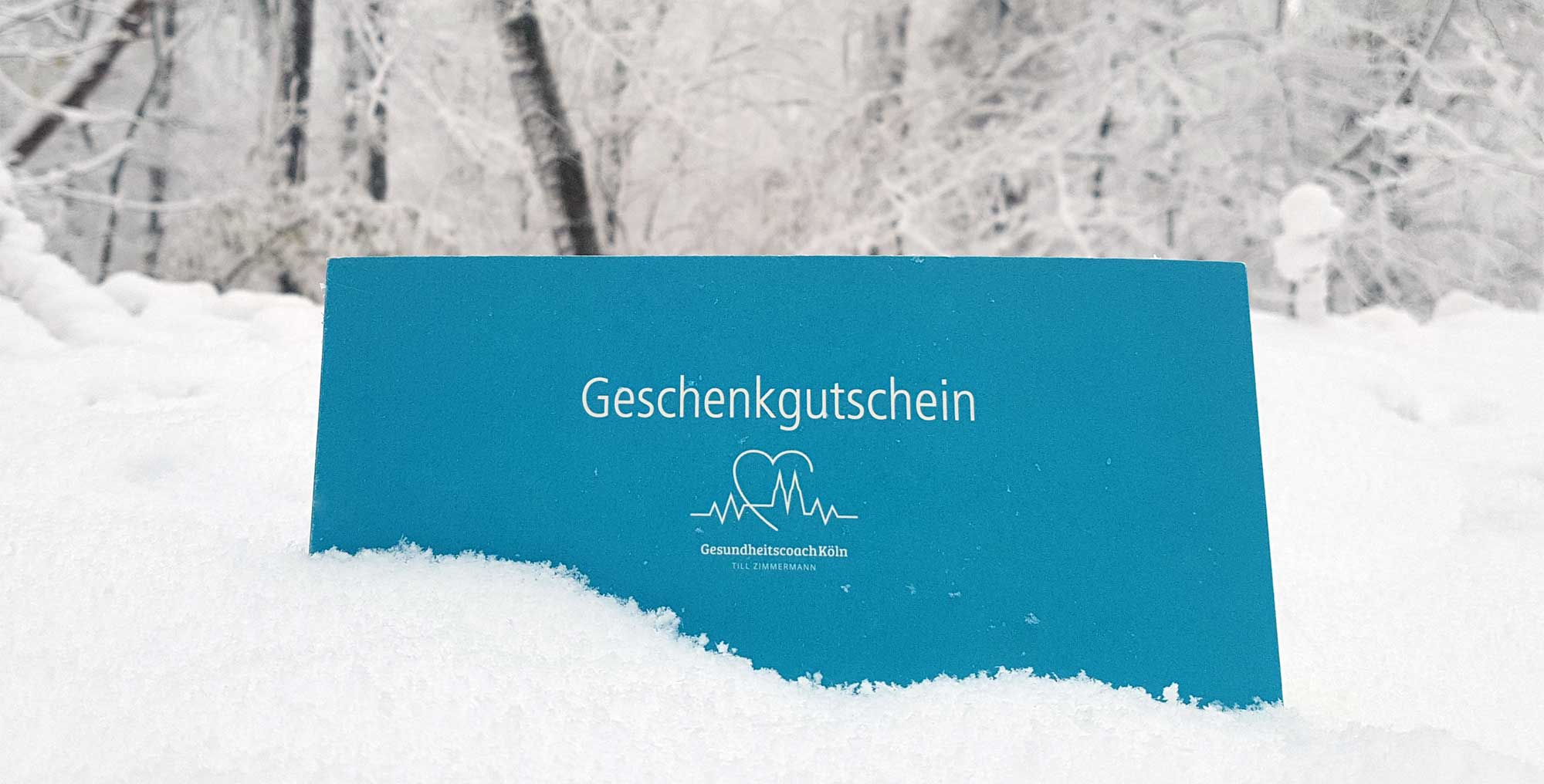 Gutschein von Till Zimmermann, deinem Gesundheitscoach in Köln